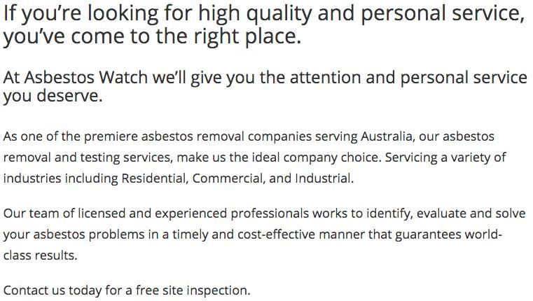 Asbestos Watch Brisbane