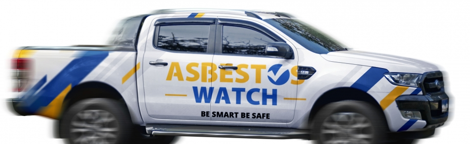 Asbestos Watch car