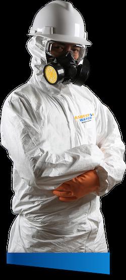 Asbestos removal technician