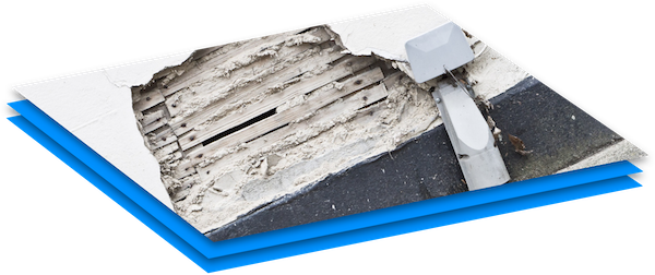 Asbestos in building materials