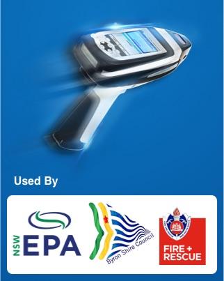 Asbestos testing tool used by EPA